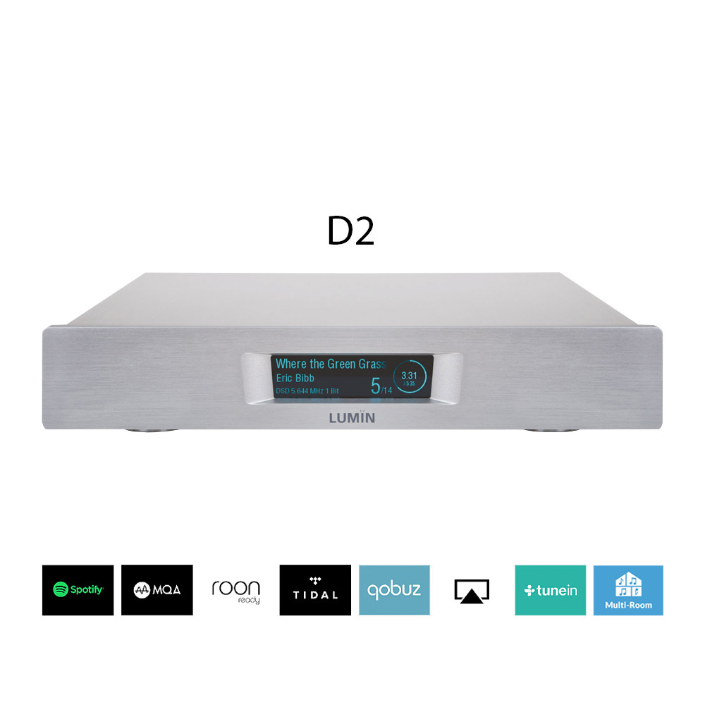 Lumin D2 Network Player silver